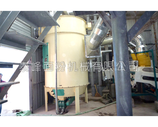 80吨面粉机组除尘设备