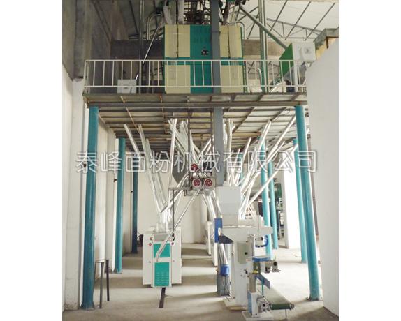 吴中6FTDP80-120吨面粉加工设备