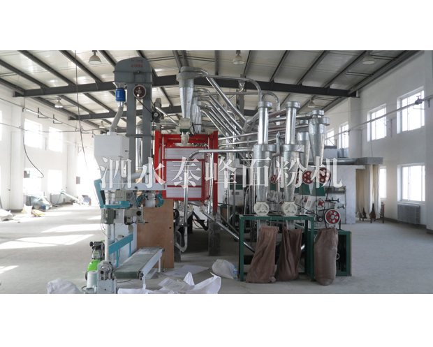 玉树山东泗水荞麦面粉加工成套设备