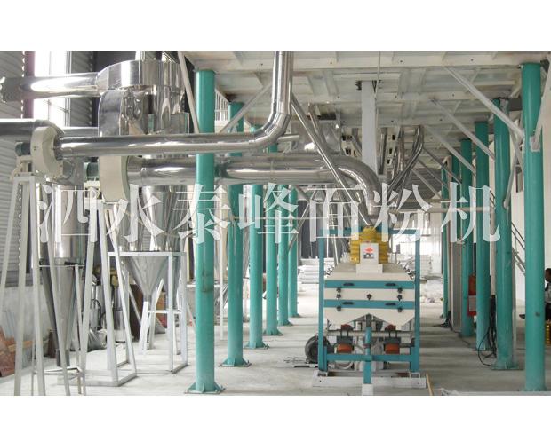 吴中山东泗水大型荞麦加工设备