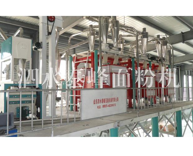 60吨荞麦制粉设备