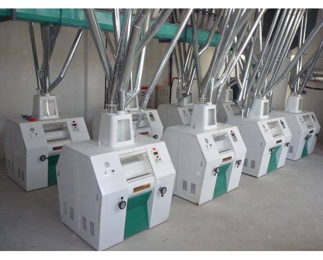 泗水日产80-100吨等级面粉加工成套设备