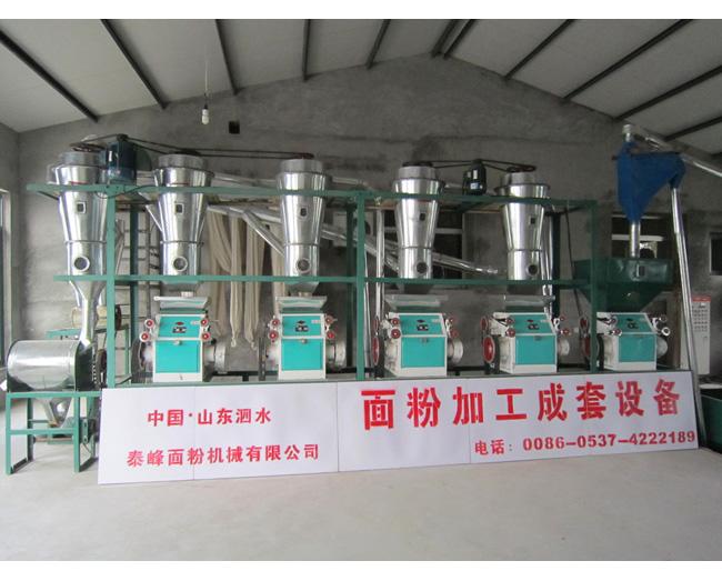 吴中日产18吨面粉加工成套设备