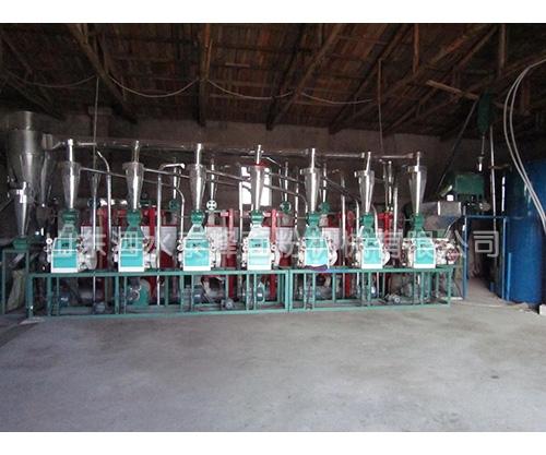 常熟日产40吨面粉加工成套设备