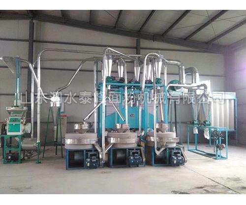 吴中六组石磨成套设备的生产厂家