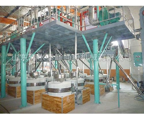 30-50吨石磨成套设备