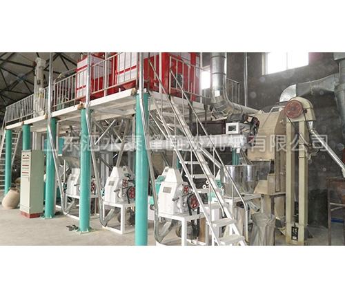 吴中50吨玉米加工成套设备