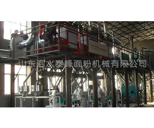 80吨玉米加工成套设备