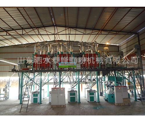 120吨玉米加工成套设备