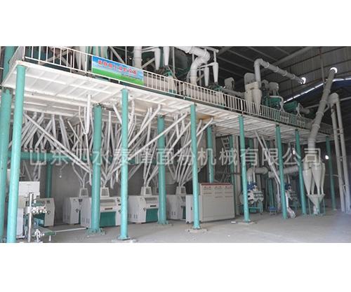 日产120-150吨等级面粉加工成套设备哪家好?