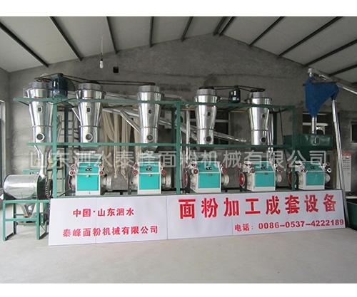 日产20吨面粉加工成套设备哪家好?