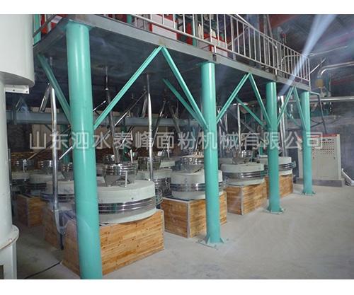 30-50吨石磨成套设备哪家质量好?
