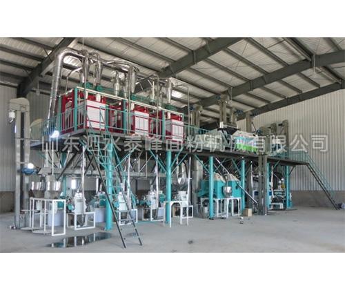 80吨玉米加工成套设备的价格